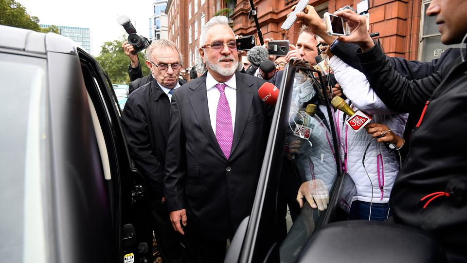 Vijay Mallya leaves Westminster Magistrates Court in London, Britain, September 12, 2018.