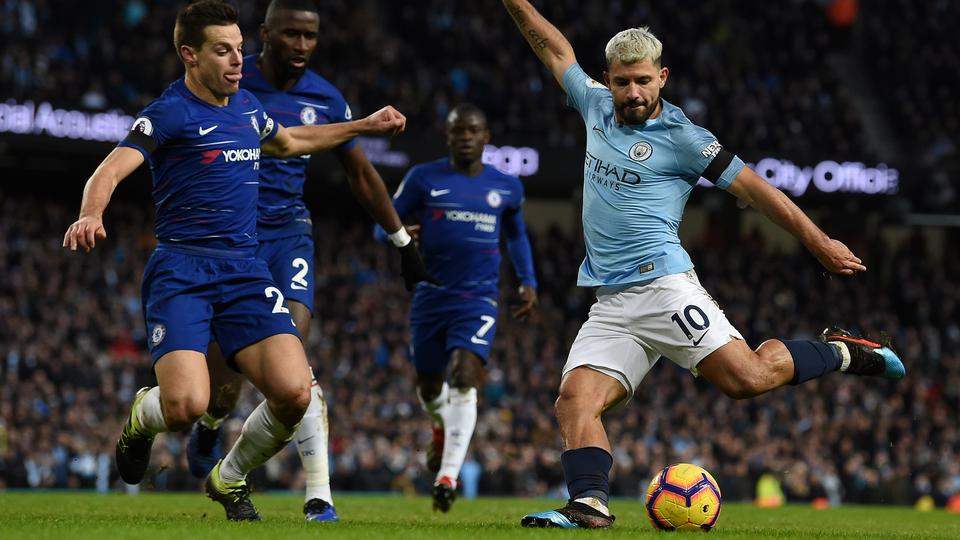 Manchester City destroy Chelsea 6-0 with another Aguero hat-trick