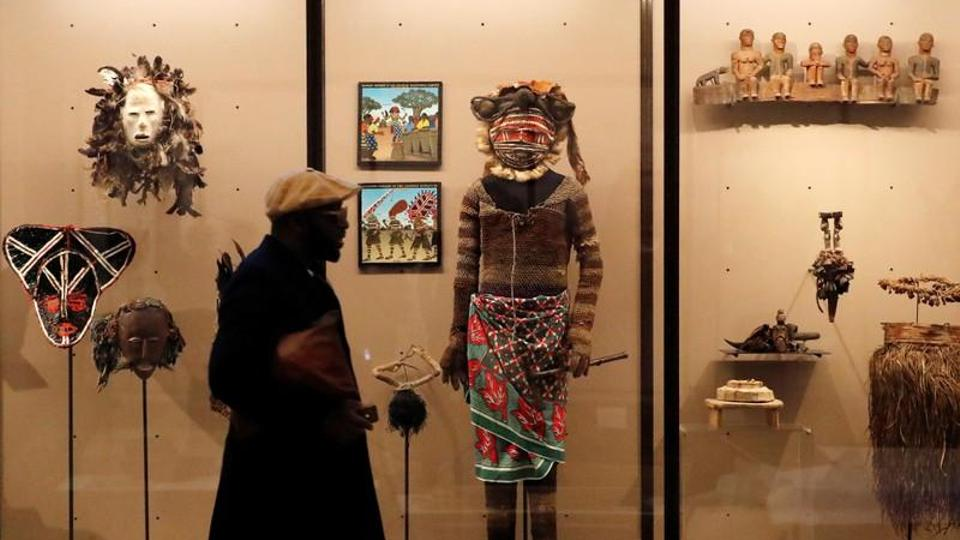 Belgium's Africa museum, full of artefacts and stuffed wildlife, was often criticised for ignoring the brutalities of King Leopold II's fiefdom, whose troops collected the hands of those who resisted slave labour at a time when millions of Congolese people are estimated to have died. Picture taken December 6, 2018.