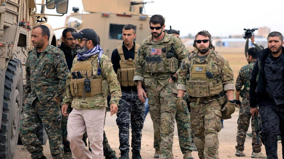 President Donald Trump announced a total withdrawal of US troops from Syria, declaring on December 19, 2018 they have succeeded in their mission to defeat Daesh and were no longer needed in the country.