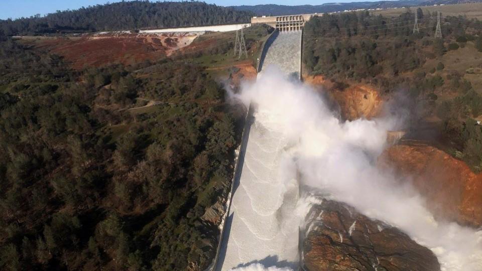 Major evacuation in California amid risk of dam collapse