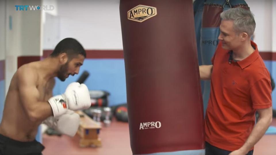 Turkish boxer aspires to walk among champions