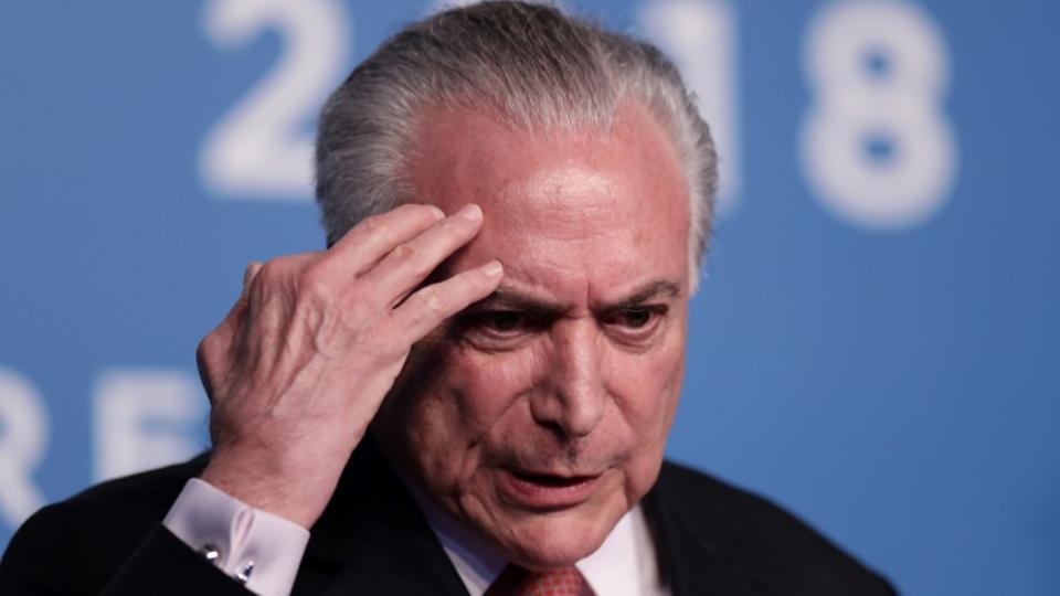 Brazil's ex-president Michel Temer arrested in corruption probe