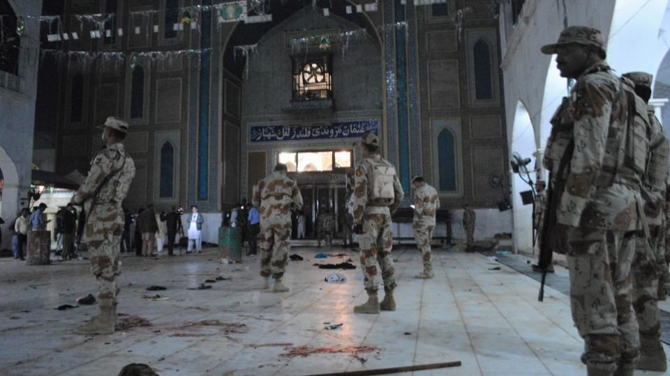 More than 80 people lost their lives in an attack on the shrine of a Sufi saint in Sindh province.