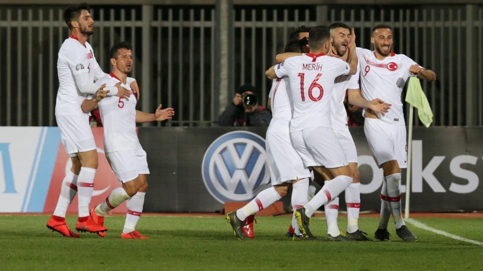 Turkey beats Albania in EURO 2020 qualifiers