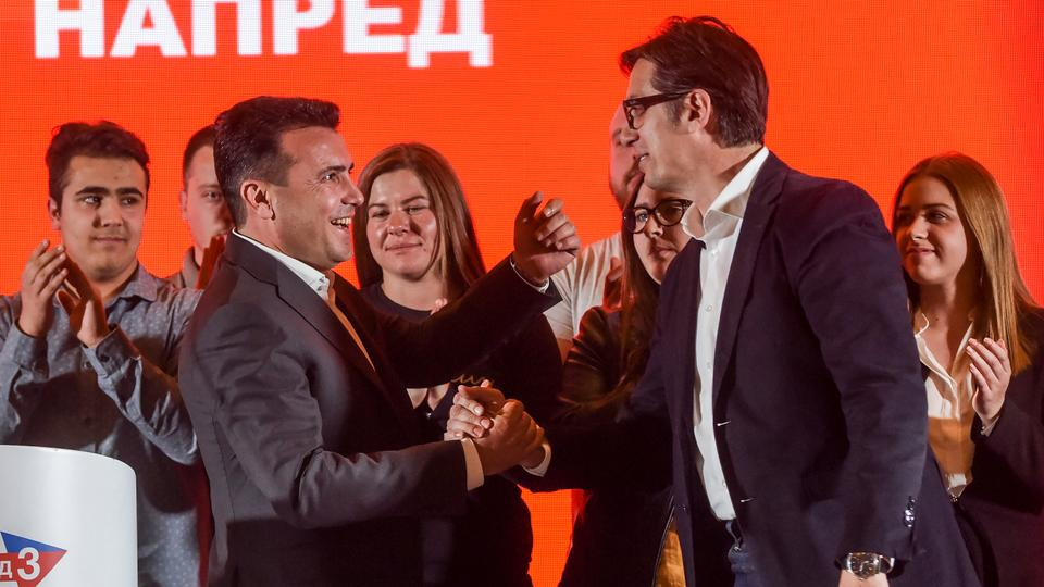 North Macedonia president vote heads to run-off
