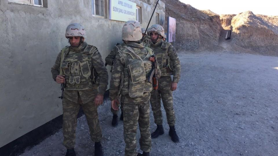 Overgrepp i nagorno karabach