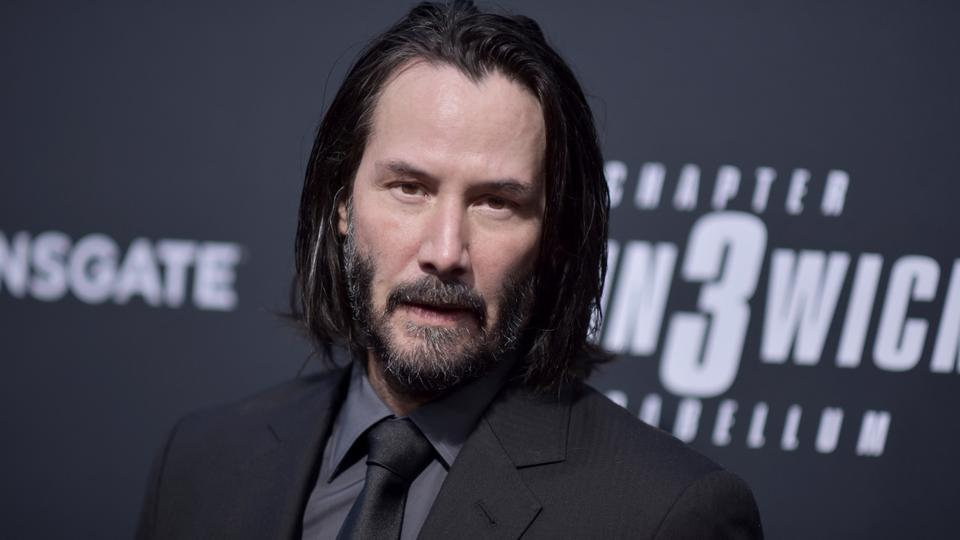 Keanu Reeves attends a special screening of