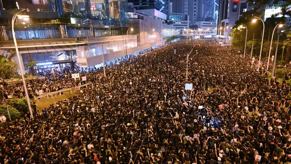 Image result for hong kong city protest