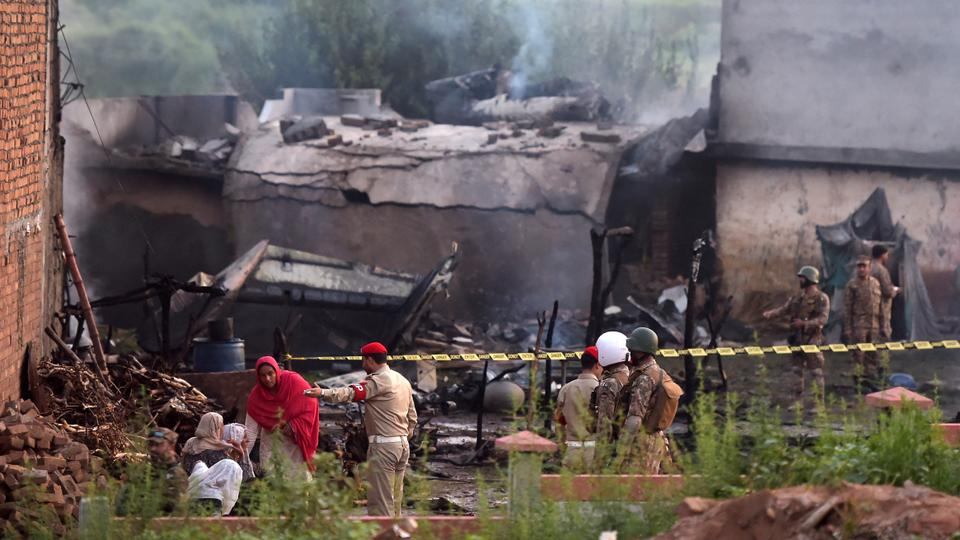 Pakistani Military Plane Crash Kills At Least 18