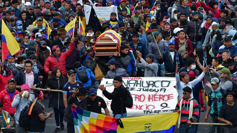 Image result for Chile protests: Five dead after looters torch garment factory