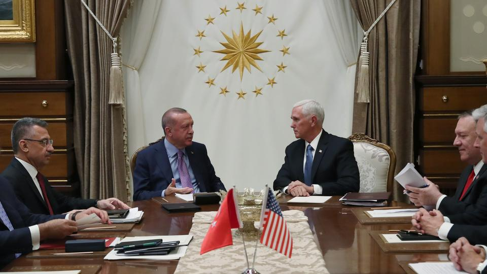 Turkey, US agree on 120-hour pause in Syria operation - Peace Spring