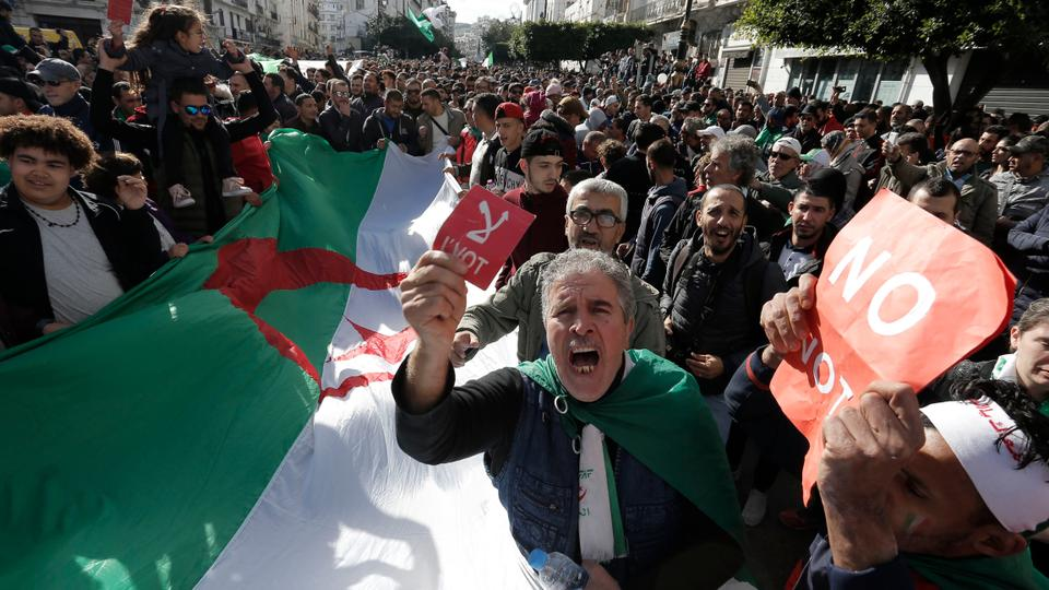Voting ends in disputed Algerian election