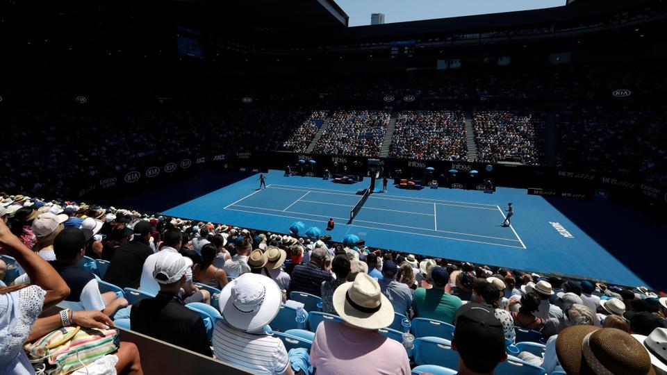 Australian Open Tennis 2019 Novak Djokovic Vs Daniil