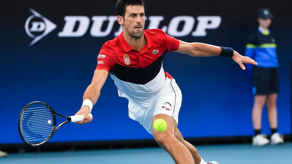 Battling Djokovic Leads Serbia Into Atp Cup Final