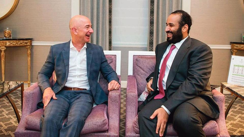 Image result for Saudi Crown Prince Reportedly Hacked Amazon's Jeff Bezos's Phone