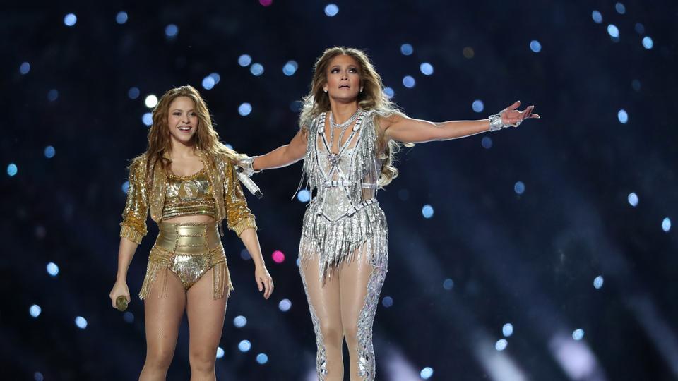 Latin Pride On Display During Jennifer Lopez Shakira Super Bowl Show