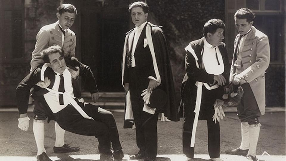 """Still from film """"The Apaches of Athens."""" Photo credit: Greek Film Archive Foundation."""