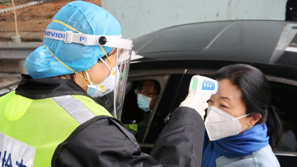 Phone and diaper makers fill void as demand for virus masks rises in China