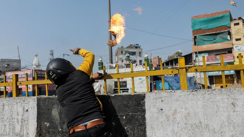 Image result for new delhi riots shrine attack