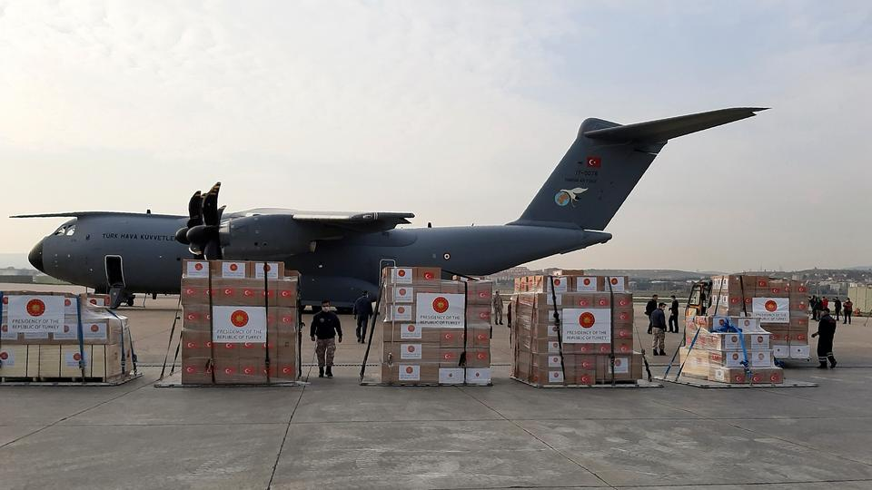 Turkey Delivers Medical Aid To Spain