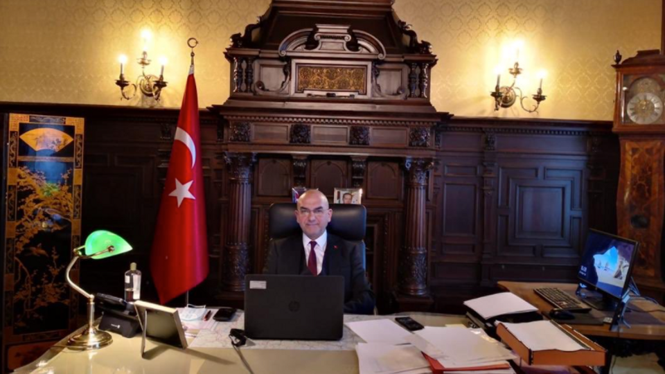 Türkiye'nin Avusturya Büyükelçisi Ozan Ceyhun.