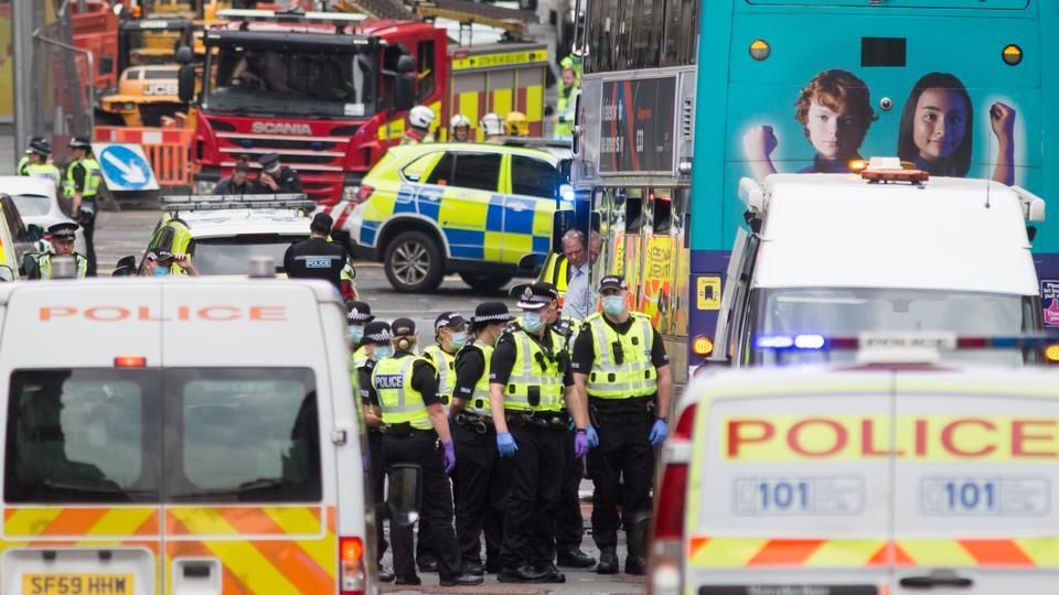 Polis, 26 Haziran 2020'de Glasgow'un merkezindeki Park Inn Hotel'de ölümcül bir bıçaklanma olayına katıldı.