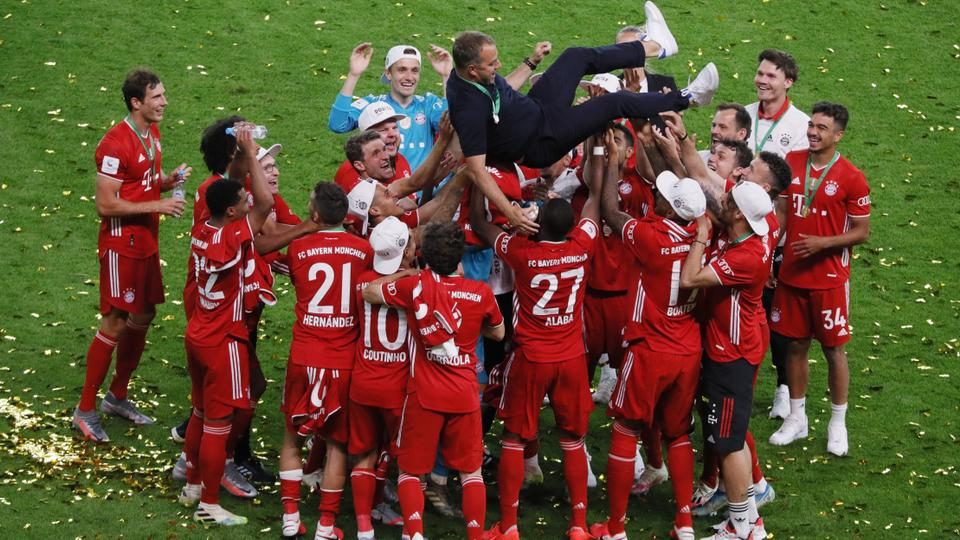 Bayern Munich Win th German Cup Title Seal Domestic Double