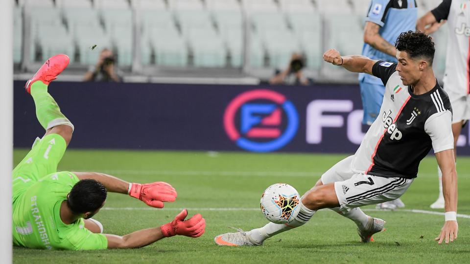 Ronaldo Eyes More Records As Juventus Close In On Scudetto