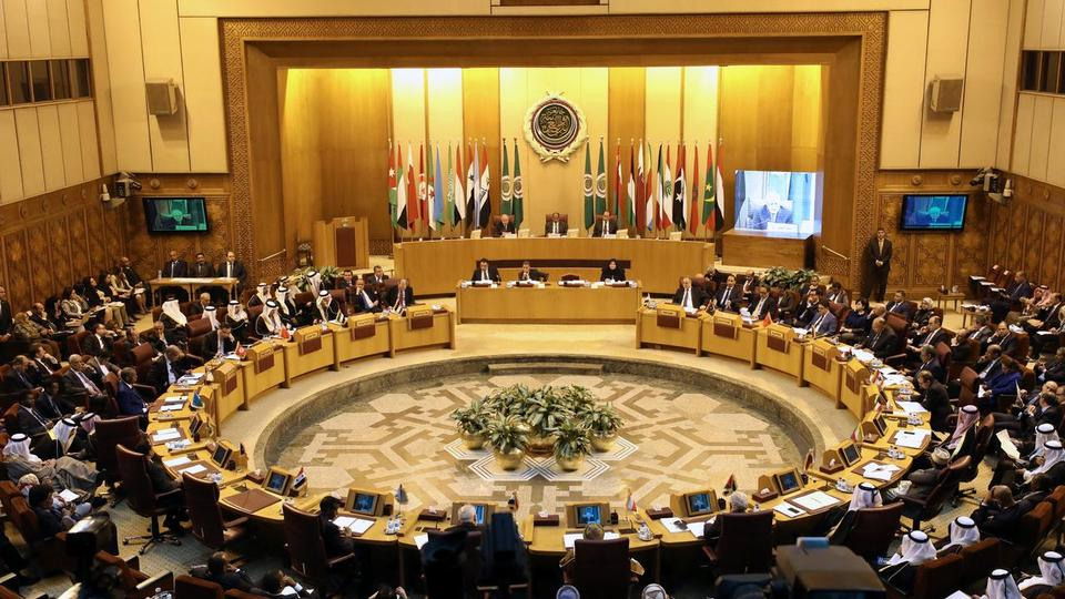 A general view of the Arab League delegates meeting to discuss US decision to move its embassy to Jerusalem, in Cairo, Egypt on December 5, 2017.