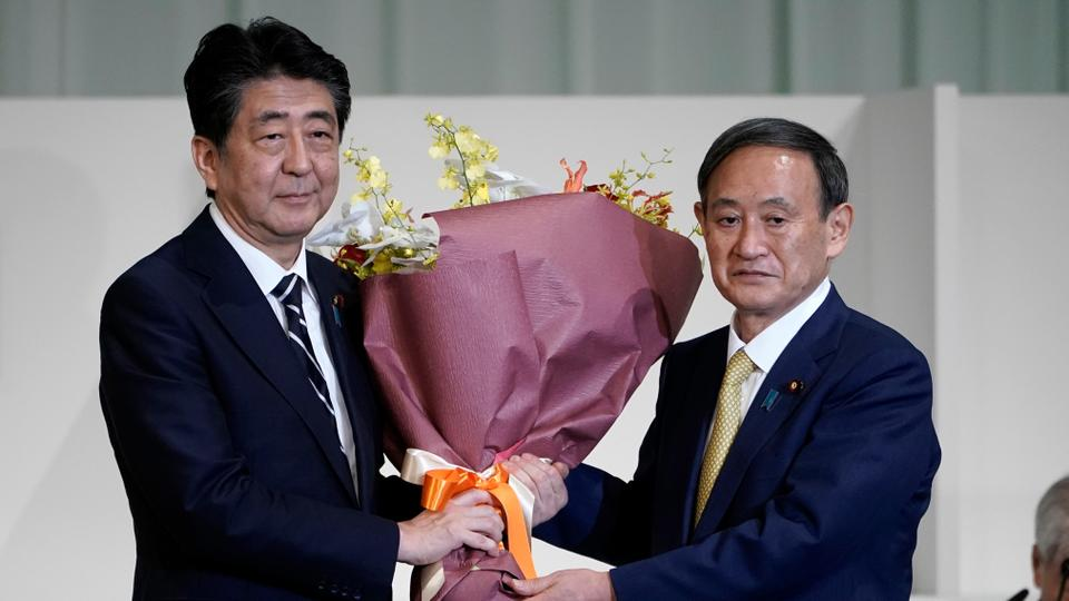 Yoshihide Suga Named As Japan New Prime Minister As Shinzo Abe Steps Down