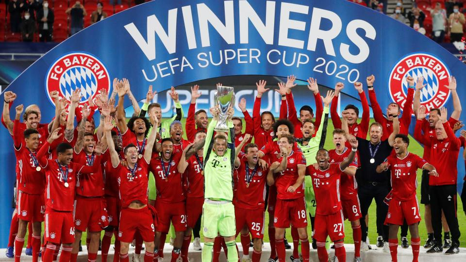 Bayern beat Sevilla to win UEFA Super Cup