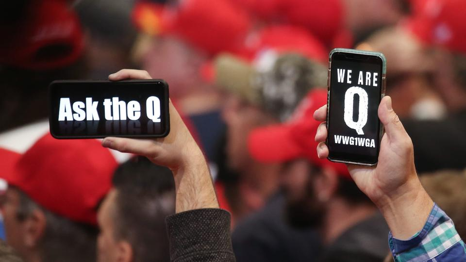 Trump voters are more likely to believe in QAnon conspiracy theories