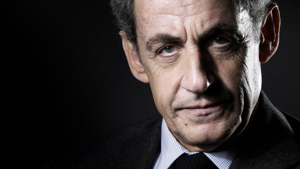 Former French president Nicolas Sarkozy poses during a studio photo session in Paris, October 18, 2016.