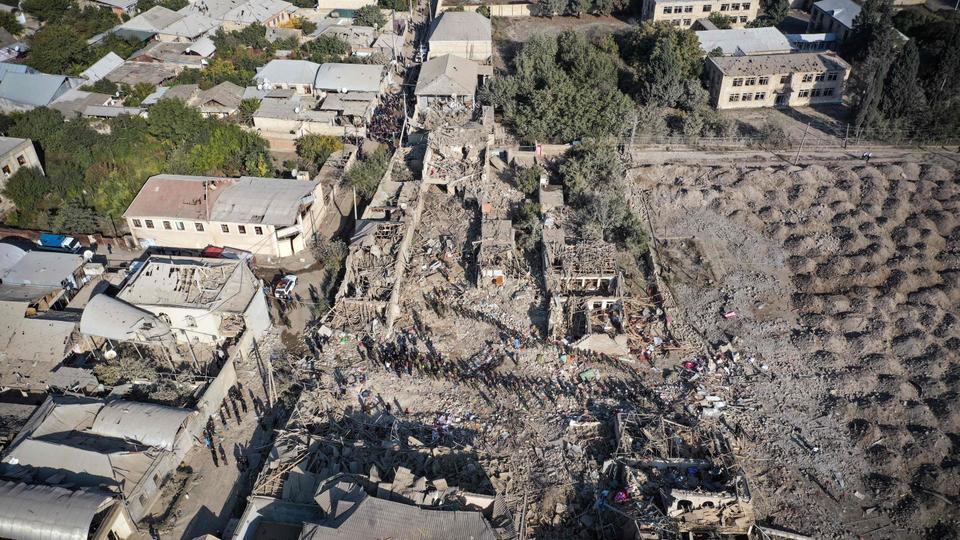 Azerbaijan: Int'l community should impose sanctions on Armenia