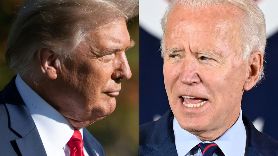 Trump, Biden hit campaign trail on Sunday to court early voters