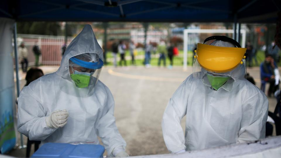 Attacks on medical teams surge in virus-hit Colombia
