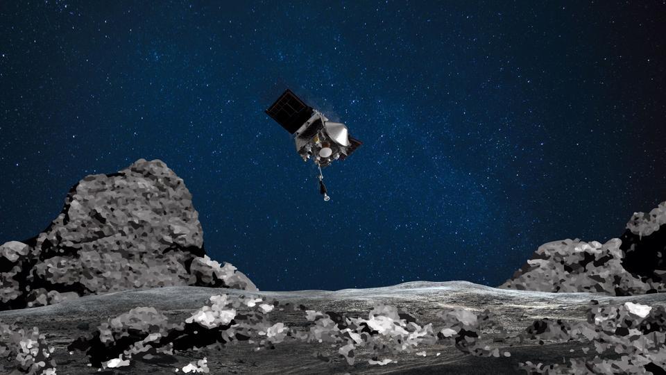 NASA spacecraft lands on asteroid Bennu, grabs sample