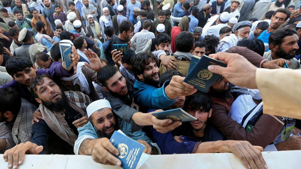 Stampede kills several Afghans trying to secure Pakistan visa