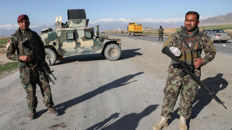 Dozens of Afghan security personnel killed in ambush blamed on Taliban