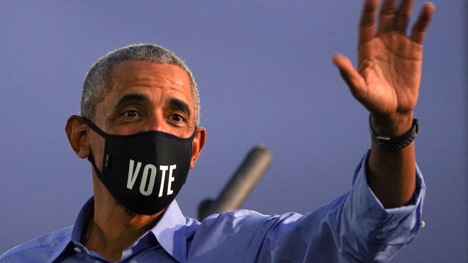 Obama campaigns for Biden, warns against complacency