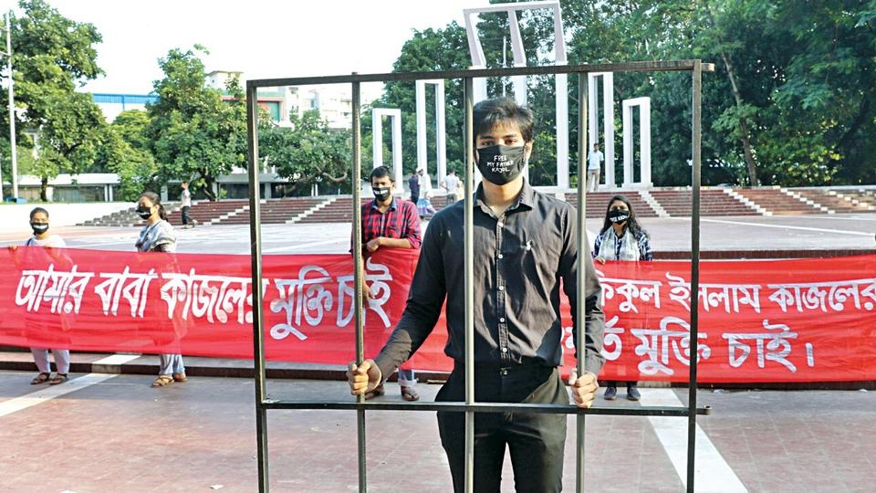 Bangladesh's media gag: A son fights for his father's release