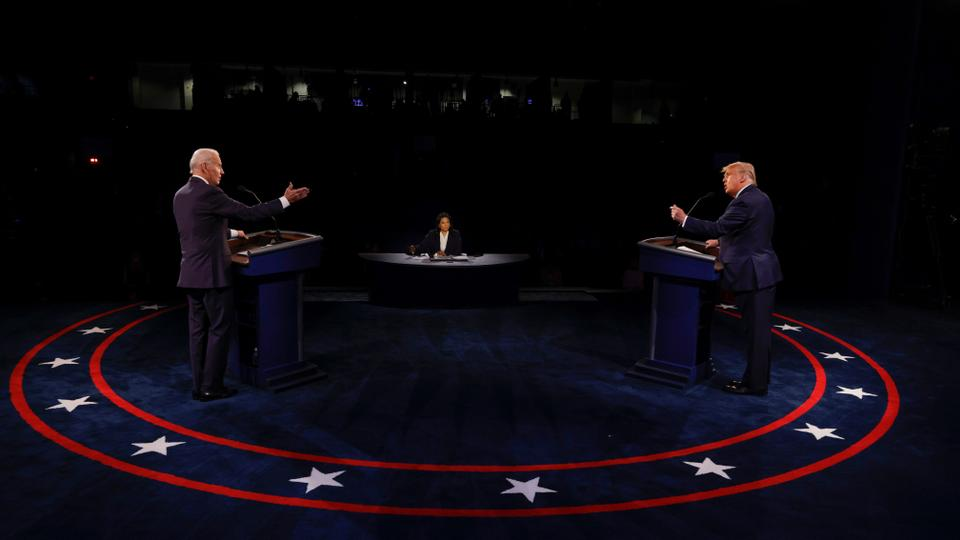 Mute button brings civility to final US presidential debate