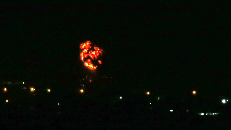 Israel bombards Gaza with air strikes