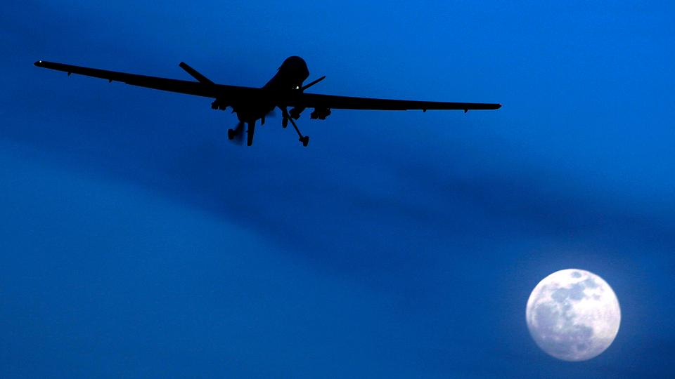 The US may start to let their drones do the talking in Iraq