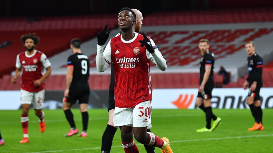 Arsenal cruise to 3-0 Europa League win over Dundalk