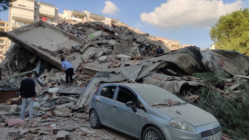Strong Aegean Sea earthquake strikes Turkey's Izmir