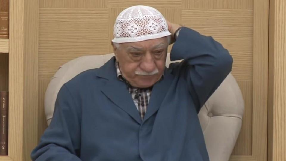 Turkish US-based cleric Fetullah Gulen responding to Turkey's Religious Affairs Commission report on July 29, 2017.