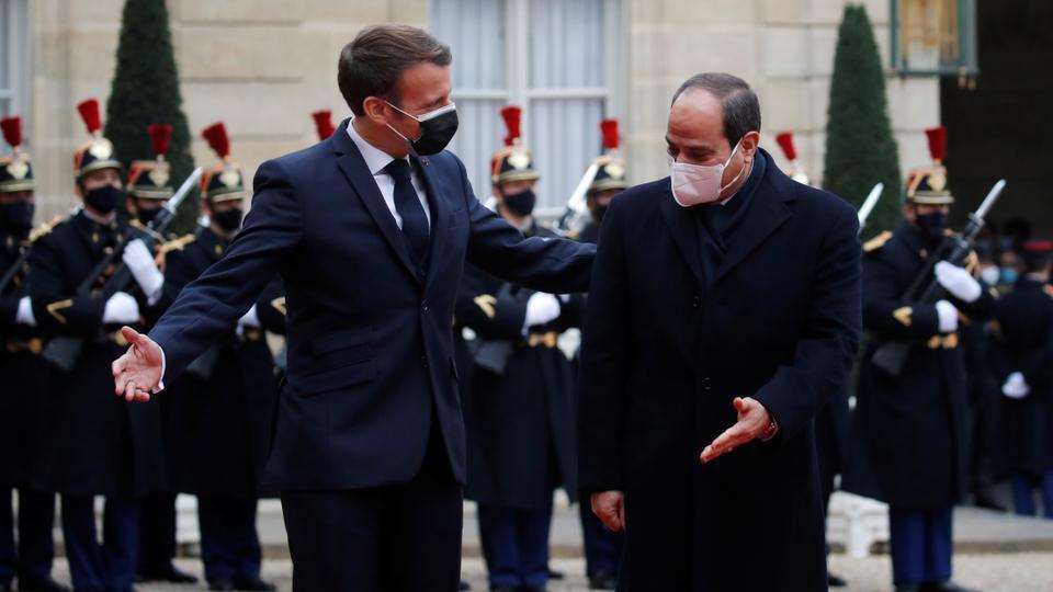 egypt as sisi visits france