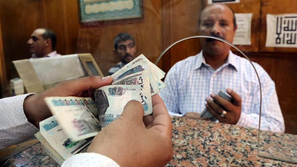 The Egyptian pound has been undergoing a fall ever since a 2011 uprising that saw an end to a 30 year rule but also brought about financial and political instability.